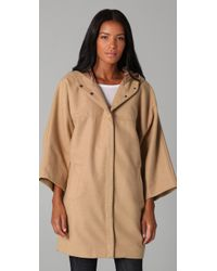 Cheap Monday - Brown The Cyclone Cape - Lyst