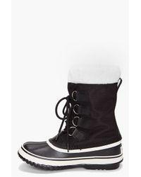 Sorel | Black Winter Carnival Boots | Lyst