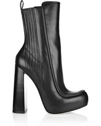 Alexander Wang - Black Addison Leather Boots - Lyst