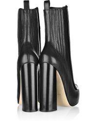 Alexander Wang | Black Addison Leather Boots | Lyst