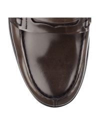 Church's - Brown Sally Leather Penny Loafers - Lyst