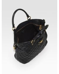 Marc Jacobs - Black Harrison New Quilted Tote Bag - Lyst