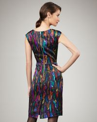 MILLY | Multicolor Cate Sheath Dress | Lyst