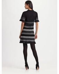 Nanette Lepore | Black Afterglow Dress | Lyst