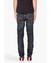 Nudie Jeans - Blue Grim Tim Brown Weft Jeans for Men - Lyst