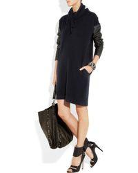 Stella McCartney - Blue Dran Fleece Wool-blend Sweater Dress - Lyst