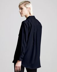 Equipment - Black Daddy Blouse - Lyst