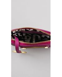 Marc By Marc Jacobs - Purple Classic Q Key Pouch - Lyst