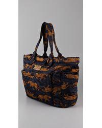 Marc By Marc Jacobs | Blue Elizababy Quilted Tote | Lyst
