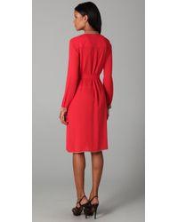 BCBGMAXAZRIA   Red Cambria Shirt Dress   Lyst