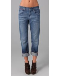 Citizens of Humanity | Blue Daisy Relaxed Jeans | Lyst