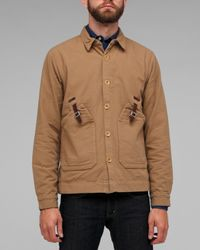 Folk | Brown Eno Shirt Jacket for Men | Lyst