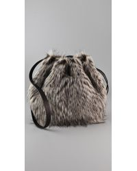 Marc By Marc Jacobs | Gray Party Rat Regine Bag | Lyst