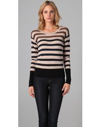 Marc By Marc Jacobs | Brown Jasmine Striped Sweater | Lyst