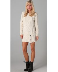 Pencey | White Sweater Dress | Lyst