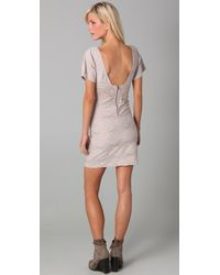 Free People - Metallic Fp New Romantics Bell Shift Dress - Lyst