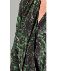 Rebecca Minkoff - Green Isabelli Wrap Dress - Lyst