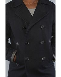 Spiewak - Blue Ensign Pea Coat for Men - Lyst