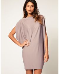 ASOS Collection - Pink Asos Dress with Embellished Back - Lyst