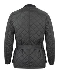 Barbour - Black International Quilted Jacket for Men - Lyst
