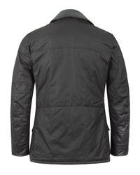 Barbour - Black Hybrid International Field Surtees Jacket for Men - Lyst