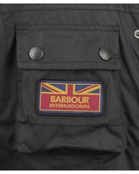 Barbour | Black Hybrid International Field Surtees Jacket for Men | Lyst