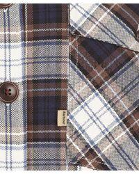 Barbour - Brown Check Corbridge Shirt for Men - Lyst