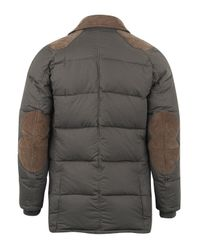 Barbour - Natural Olive Nord Down Quilted Jacket for Men - Lyst