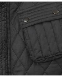 Barbour - Black Motorbike Quilted Waxed Jacket for Men - Lyst