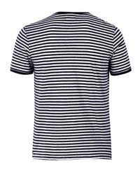 Folk | Black Stripe T-shirt for Men | Lyst