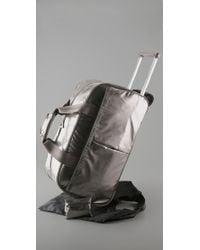 LeSportsac - Metallic Wheeled Duffel Bag - Lyst