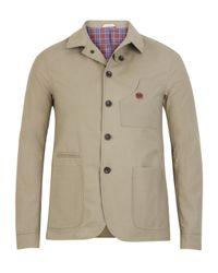 Oliver Spencer - Natural Sand Navigator Wax Jacket for Men - Lyst