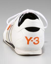 Y-3 | White Sala Classic Sneaker for Men | Lyst