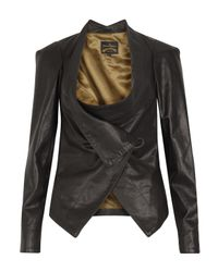 Vivienne Westwood Anglomania | Black Bounty Leather Jacket | Lyst