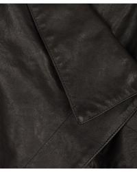 Vivienne Westwood Anglomania Black Bounty Leather Jacket