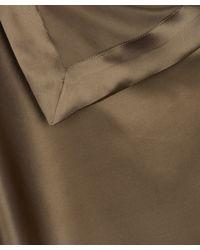 Vivienne Westwood Anglomania - Metallic Gold Silk Scarf Dress - Lyst