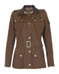 Barbour Brown Sandstone International Waxed Jacket