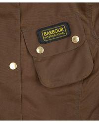 Barbour | Brown Sandstone International Waxed Jacket | Lyst