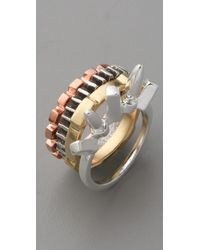 DANNIJO - Multicolor Stacking Ring Set - Lyst