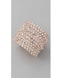 DANNIJO | Pink Coco Ring | Lyst