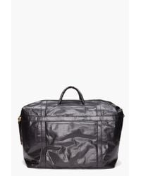 Diesel Black Gold Black Sloane I Travel Bag for men