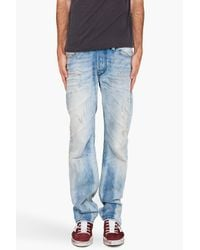DIESEL | Blue Viker-r-box Jeans for Men | Lyst