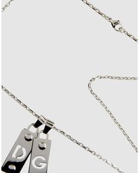 Dolce & Gabbana - Metallic Necklaces - Lyst