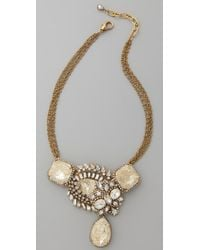Erickson Beamon | Metallic Gold Digger Necklace | Lyst