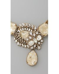 Erickson Beamon - Metallic Gold Digger Necklace - Lyst