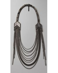 Fiona Paxton | Gray Brooklyn Necklace | Lyst