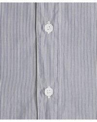 Folk | Blue Fine Navy Stripe Standard Shirt for Men | Lyst