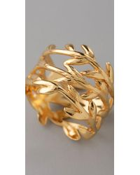 Gorjana - Metallic Vine Ring - Lyst