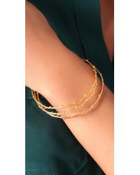 Gorjana - Metallic Willow Bangle Set - Lyst