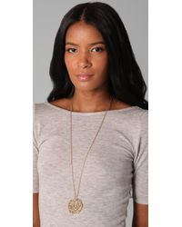 House of Harlow 1960 | Metallic Antler Pendant Necklace | Lyst